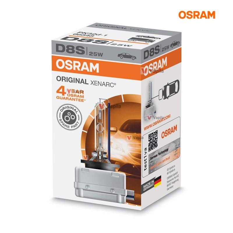 Ксеноновая лампа Osram D8S Xenarc Original