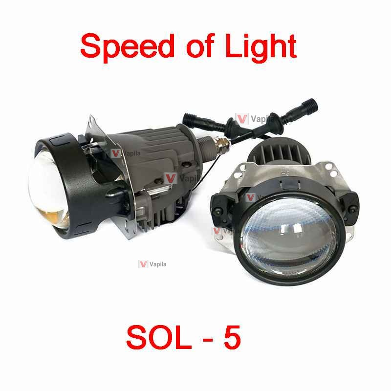 bi-led lenses sol-5