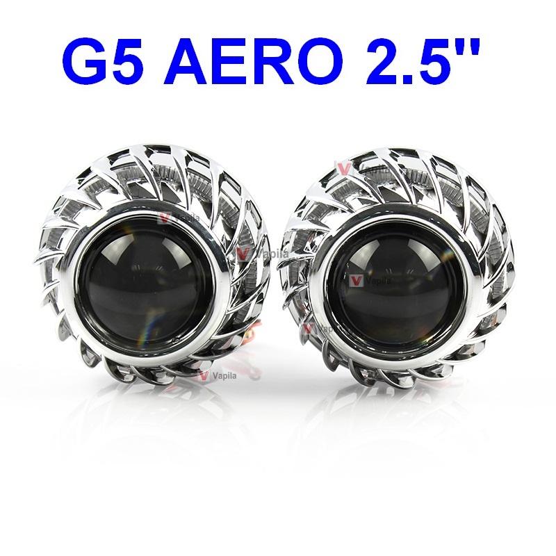 Маски для биксеноновых линз G5 AERO диаметром 2.5''