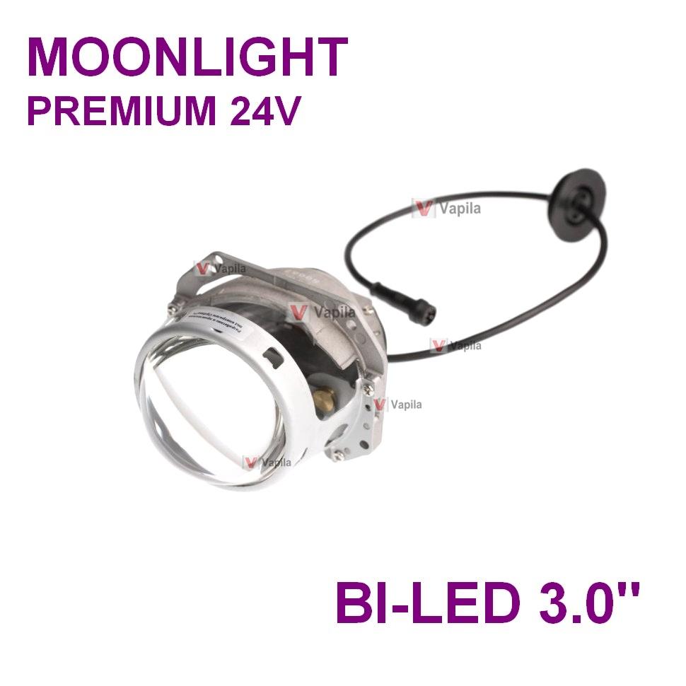 BI-LED линза для грузовиков Moonlight Premium 24v