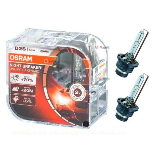 Ксеноновая лампа Osram Night Breaker Unlimited Xenarc D2S 35w