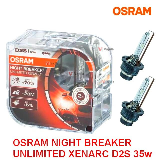 Ксеноновая лампа Osram Night Breaker Unlimited Xenarc D2S 35w