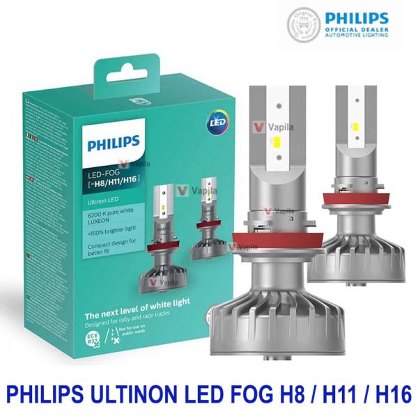 Противотуманные светодиодные лампы Philips Ultinon LED 11366ULWX2 H8 H11 H16