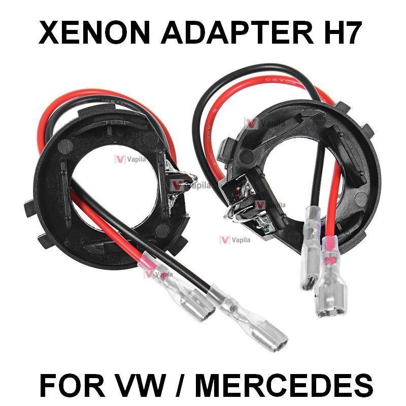 Ксеноновый переходник для лапм H7 авто VW MERCEDES