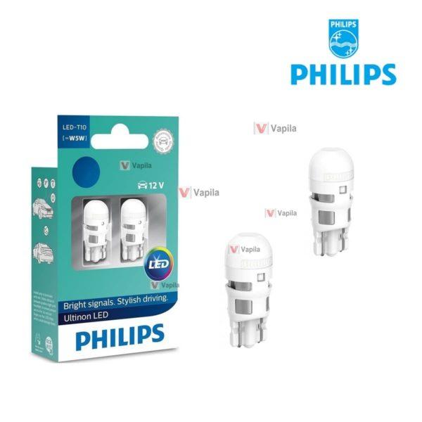 Светодиодные лампы Philips Ultinon LED T10 w5w 11961ulw
