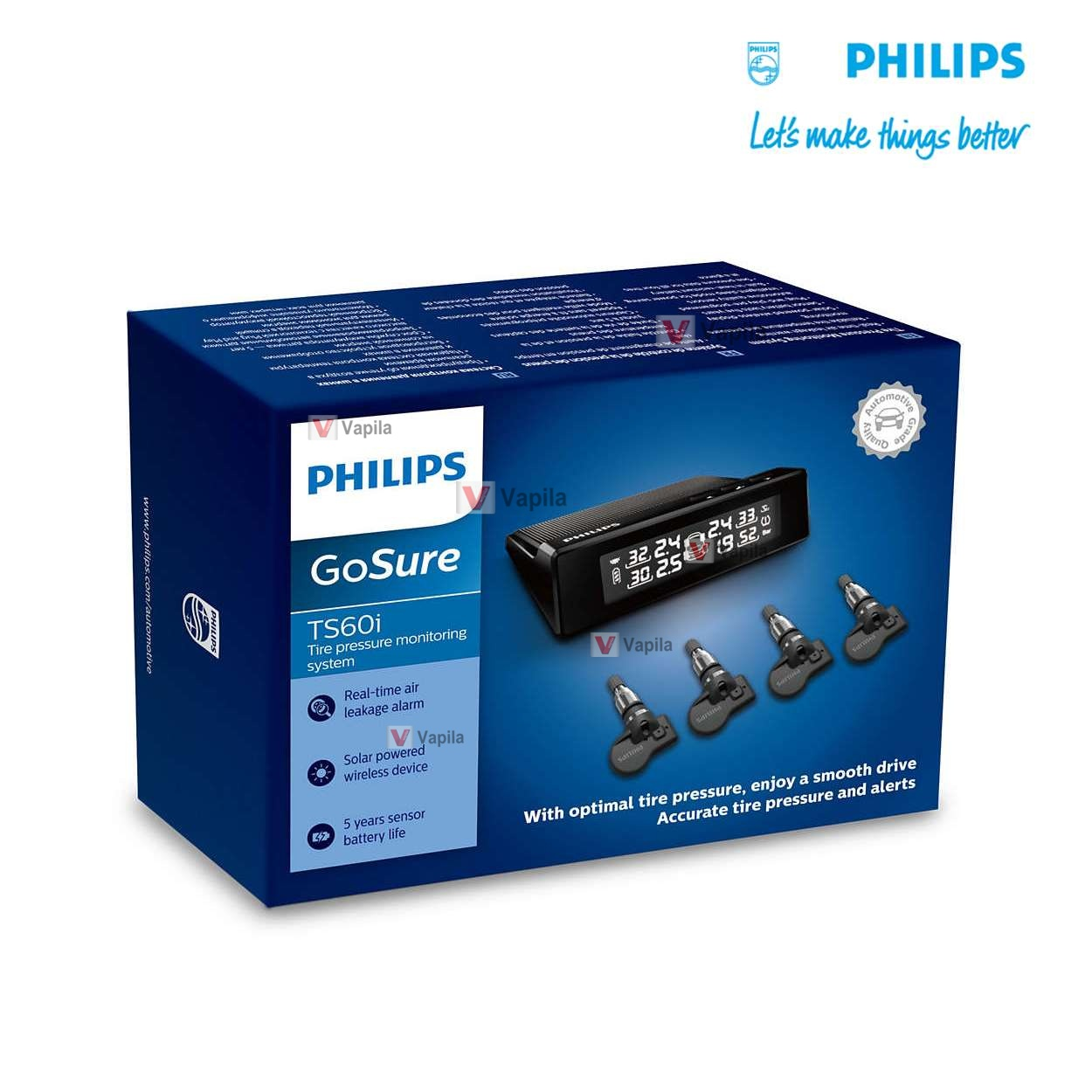 Котроль шин Philips GoSure TPMS TS60i TS60LC1