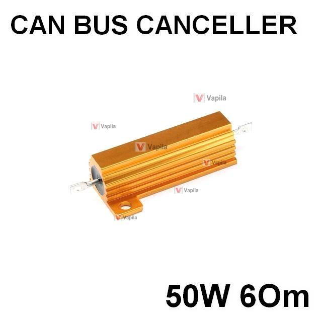 Резистор-обманка для ламп 50w 6 Ом