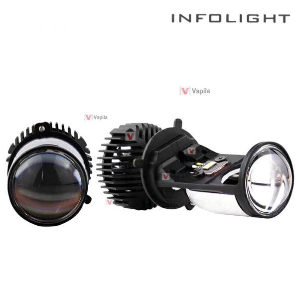 Светодиодные мини линзы Infolight H4 mini LED