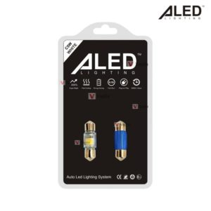 LED лампы ALED C5W Festoon 31mm 6000K
