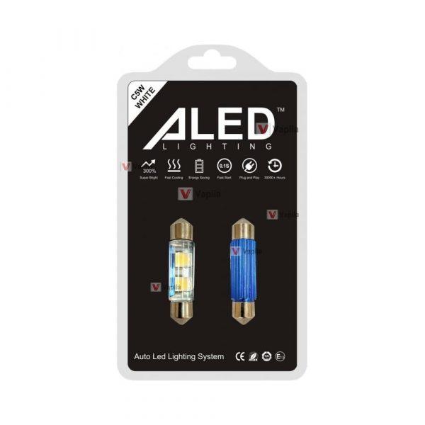 LED лампы ALED C5W Festoon 36mm 6000K