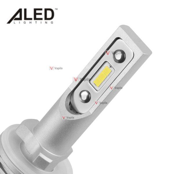 LED лампы ALED mini H27 (880/881) MH27 13w 2000Lm для ПТФ фар