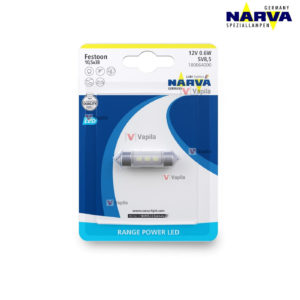 Narva Range Power LED C5W SV8,5 Festoon 6000K