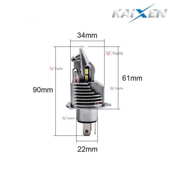 Bi-LED лампы Kaixen V3 H4 40w 6000K