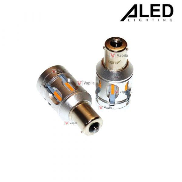Светодиодные лампы ALED Canbus PY21W/1156/Bau15s 25w