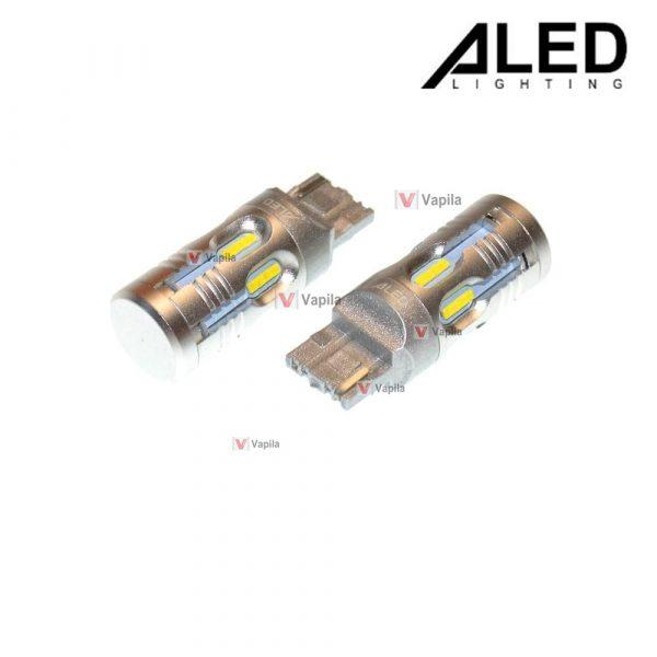 Светодиодные лампы ALED Canbus W21W T20 White