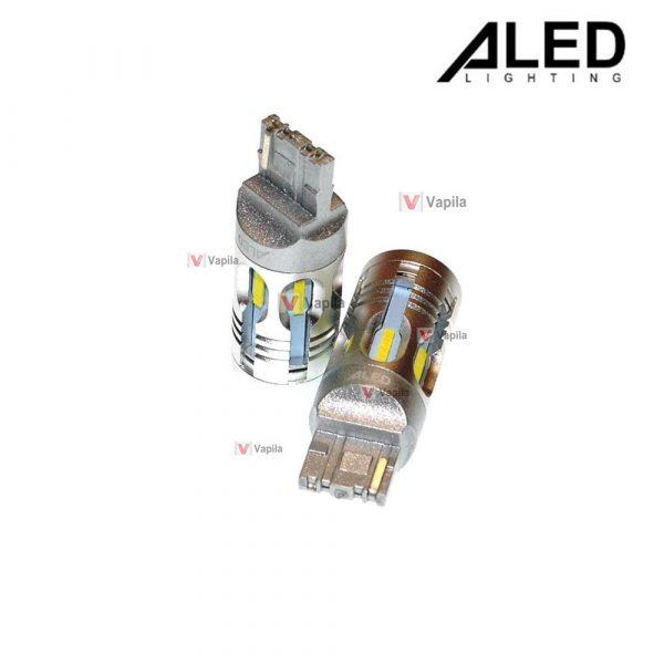 Светодиодные лампы ALED Canbus WY21W 7440 Yellow