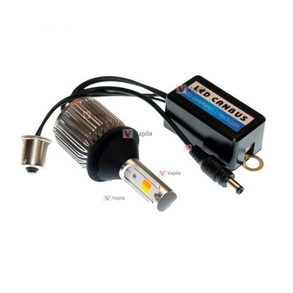 ДХО + поворот Baxster COB Light P21W BA15S