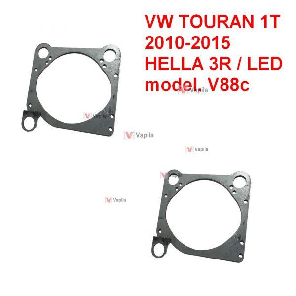 Переходные рамки для установки линз VW Touran 1T рестайл 2010-2015