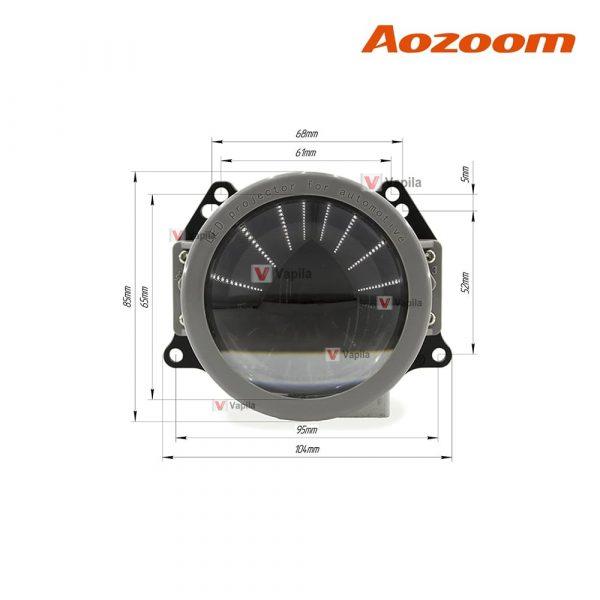 Светодиодные линзы Aozoom A3+ 45W 3.0 дюйма размеры
