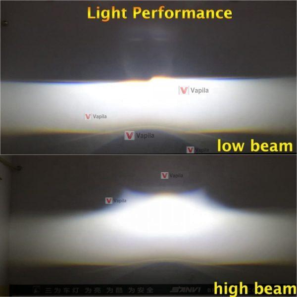 Линзы Sanvi Bi-LED V8 55W 5500K