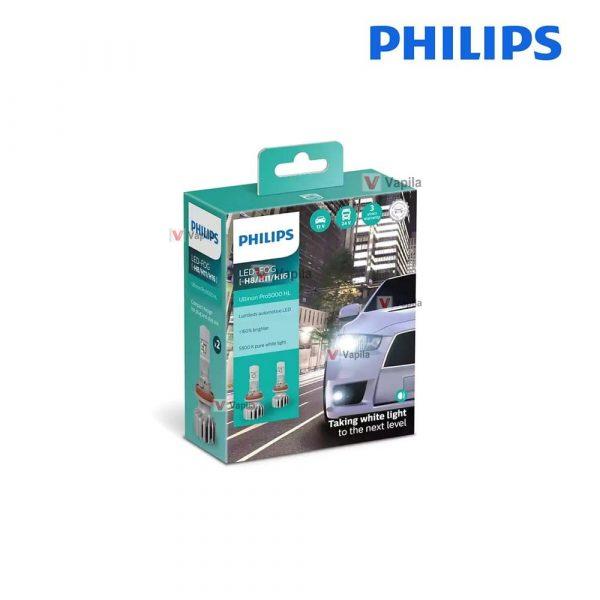 Philips Ultinon Pro5000 LED-FOG H8/H11/H16 5800K 11366U50CWX2